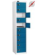 Thumbnail of Probe Ten Door Blue Laptop Locker