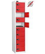 Thumbnail of Probe Ten Door Red Laptop Locker