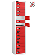 Thumbnail of Probe Fifteen Door Red Laptop Locker