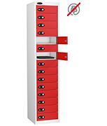 Thumbnail of Probe Fifteen Door Red Laptop Locker