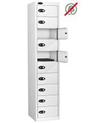 Thumbnail of Probe Ten Door White Laptop Locker