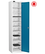 Thumbnail of Probe Ten Bay Blue Laptop Locker (charging)
