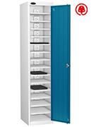 Probe Fifteen Bay Blue Laptop Locker (charging)