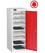 Thumbnail of Probe Eight Bay Red Laptop Locker (charging)