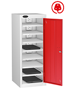 Thumbnail of Probe Eight Bay Red Laptop Locker (charging)