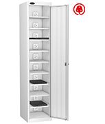 Thumbnail of Probe Ten Bay White Laptop Locker (charging)