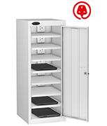 Thumbnail of Probe Eight Bay White Laptop Locker (charging)