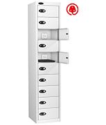 Thumbnail of Probe Ten Door White Laptop Locker (charging)