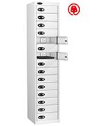 Thumbnail of Probe Fifteen Door White Laptop Locker (charging)