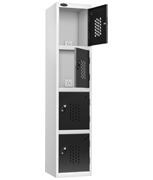 Thumbnail of Probe 4 Door - Black Recharge Locker