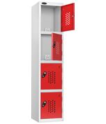 Thumbnail of Probe 4 Door - Red Recharge Locker
