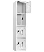 Thumbnail of Probe 4 Door - White Recharge Locker