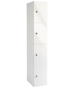 Thumbnail of Probe 4 Door - White Glossbox Locker