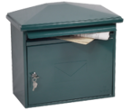 Libro Green - Steel Post Box