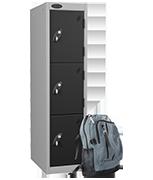 Thumbnail of Probe 3 Door - Black Low Locker