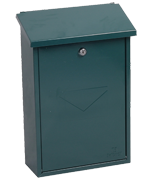 Thumbnail of Villa Green - Steel Post Box