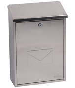 Villa Stainless Steel Post Box