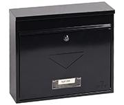 Correo Black - Steel Post Box