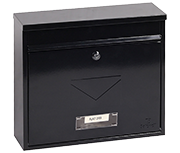 Thumbnail of Correo Black - Steel Post Box