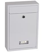Letra White - Steel Post Box