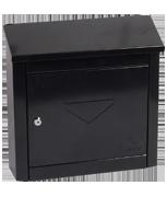 Moda Black - Steel Post Box