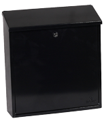 Casa Black - Steel Post Box