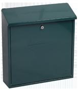 Casa Green - Steel Post Box