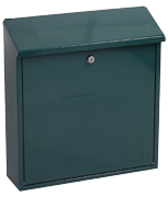 Thumbnail of Casa Green - Steel Post Box