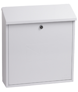 Thumbnail of Casa White - Steel Post Box
