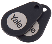 Thumbnail of Yale Smart Lock Black Key Tag (Twin Pack)