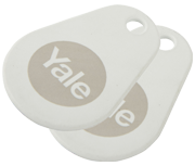 Thumbnail of Yale Smart Lock White Key Tag (Twin Pack)