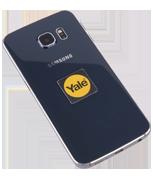 Yale Smart Lock Black Phone Tag (Twin Pack)