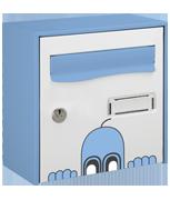 Ghost Design - Steel Post Box