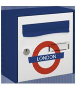 Tube Design - Steel Post Box