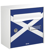 Scotland Design - Steel Post Box