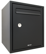 Thumbnail of DAD009 Black - Secured by Design Post Box
