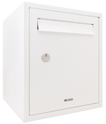 Thumbnail of DAD009 White - Secured by Design Post Box