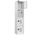 Thumbnail of Probe 4 Door - White Recharge Locker