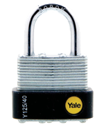 Thumbnail of Yale Y125 40mm Laminated Steel Padlock