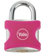 Yale YE3 32mm Pink Aluminium Padlock