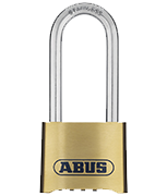 ABUS Nautilus Code 180IB/50 Marine Grade Long 63mm Shackle Combination Padlock