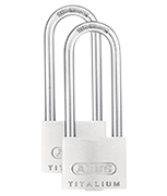 Thumbnail of ABUS TITALIUM 64TI/40 Long 63mm Shackle Padlock (3 pack)