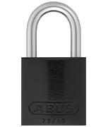 Thumbnail of ABUS Aluminium 72/40 Black Padlock