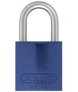Thumbnail of ABUS Aluminium 72/40 Blue Padlock