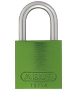 Thumbnail of ABUS Aluminium 72/40 Green Padlock