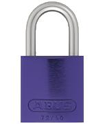 Thumbnail of ABUS Aluminium 72/40 Lilac Padlock