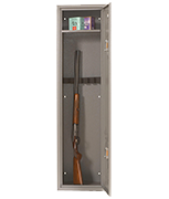 Thumbnail of JFC Rifle - 9 Gun Cabinet (with shelf)