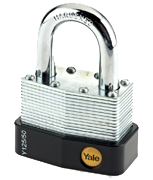 Thumbnail of Yale Y125 50mm Laminated Steel Padlock