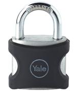 Yale YE3 38mm Black Aluminium Padlock