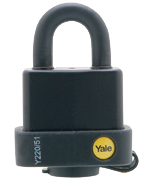 Yale Y220 Weatherproof 51mm Steel Padlock